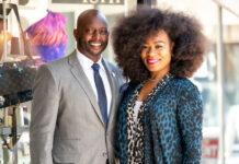 Greg and Iyishia Jones portrait