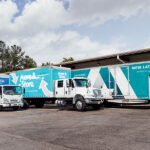 New Latitude moving trucks